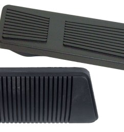 jeep wrangler yj automatic transmission brake and gas pedal kit from 2 16 1993 to 1995 [ 1500 x 864 Pixel ]