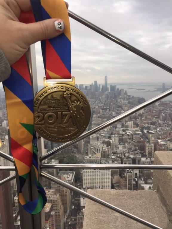 NYC Marathon Medal 2017