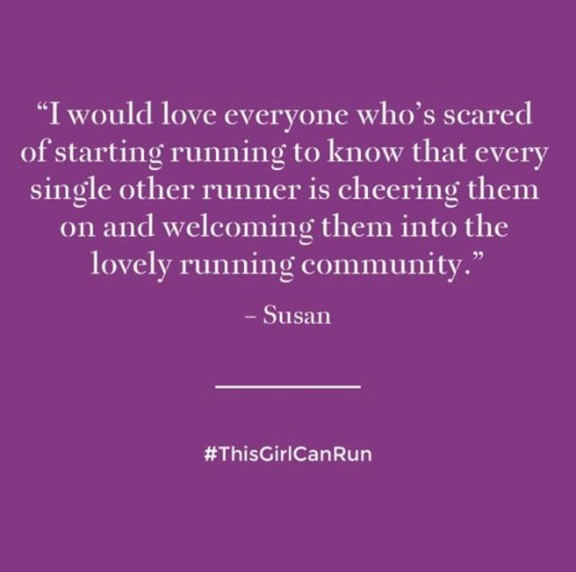 #ThisGirlCanRun Quote.