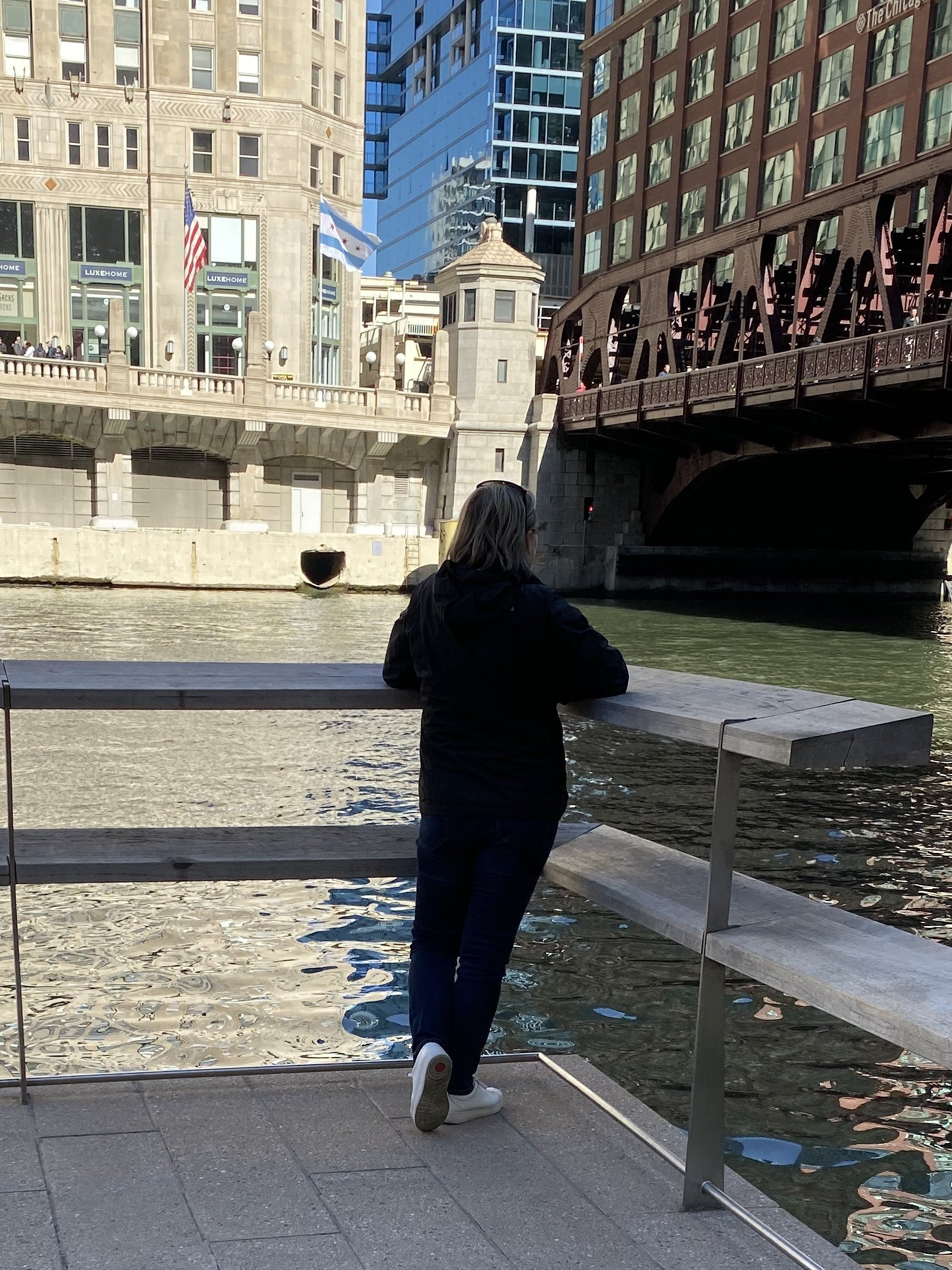Reflecting in Chicago