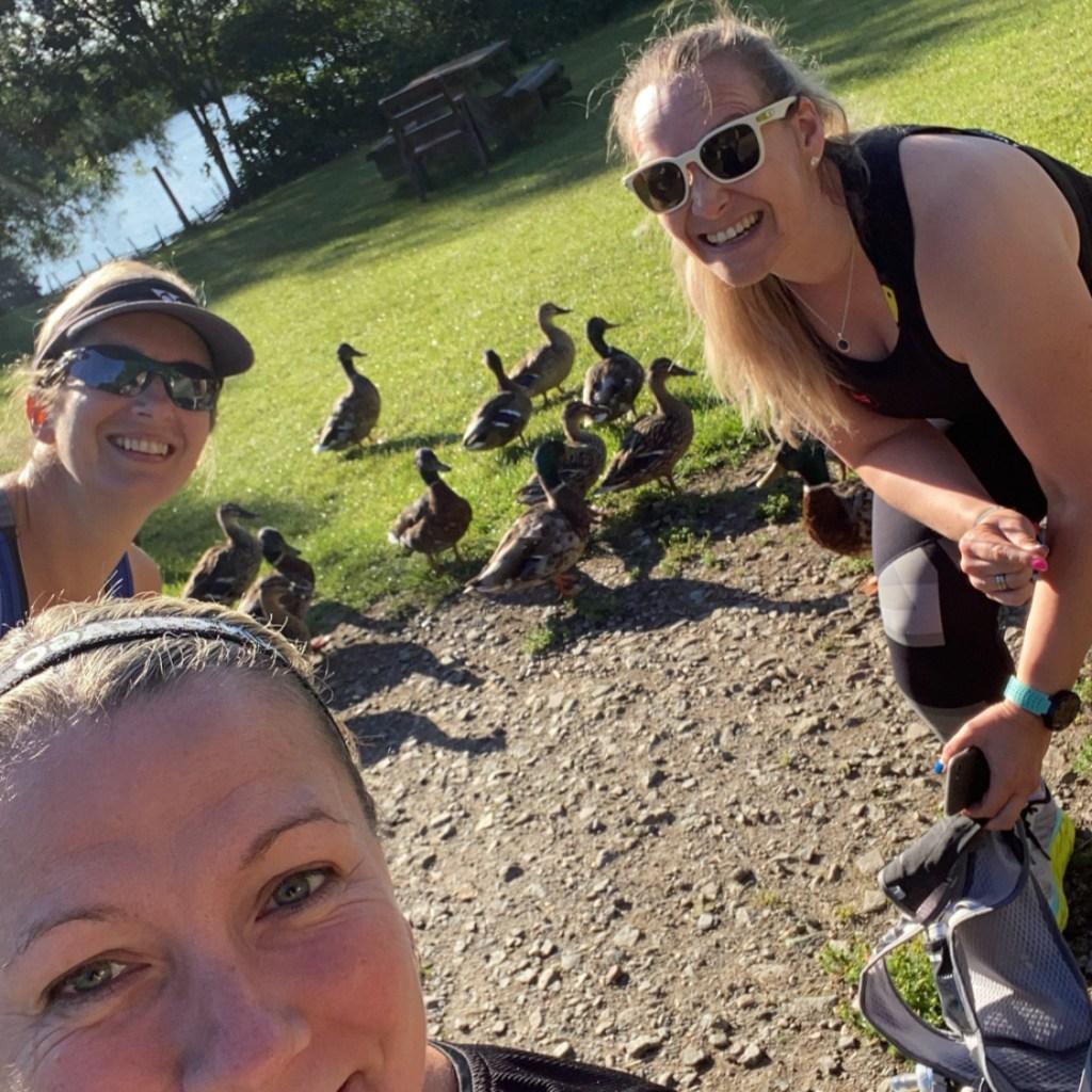 Ruth, Christine & Sarah London Marathon training