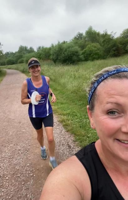 Berlin Marathon Training - Ruth & Christine