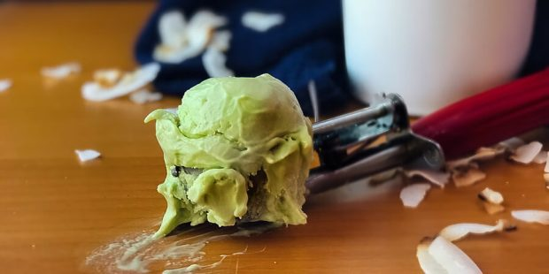 Avocado Coconut Ice Cream