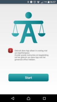 Start Activiteitenweger App