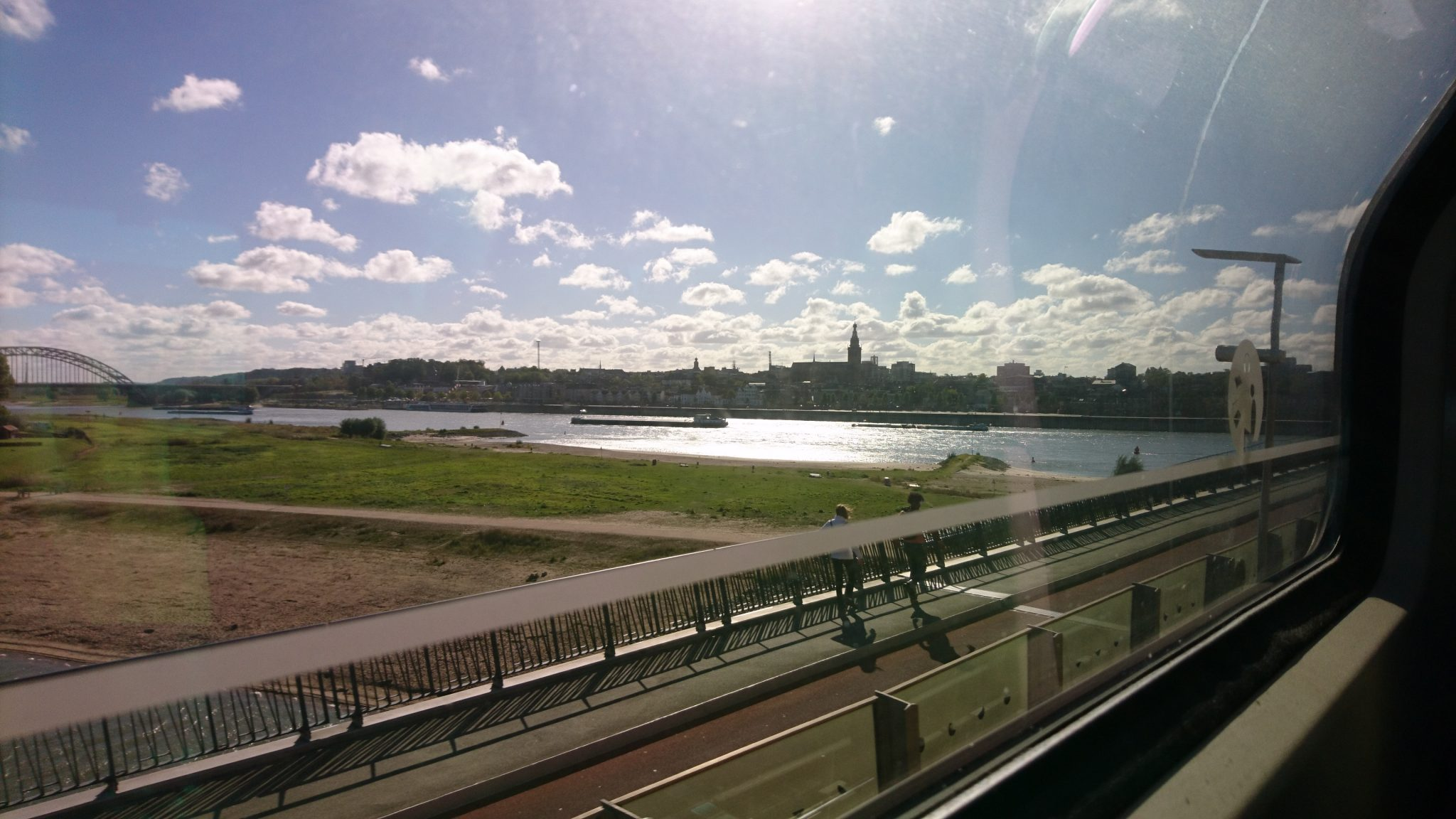 laatste start Uitzicht op Nijmegen