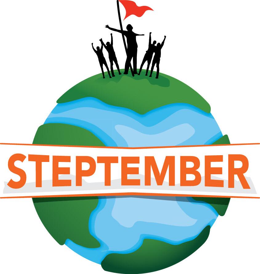 Logo Steptember stappen