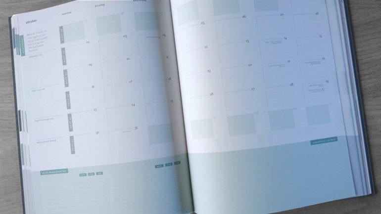 De maandplanning