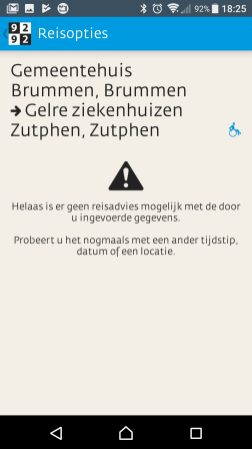Brummen -Zutphen met toegankelijke planning