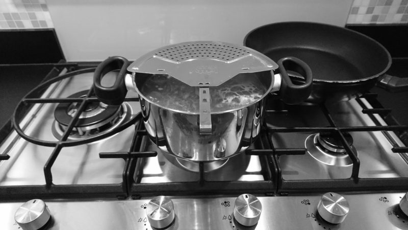 Spullen koken