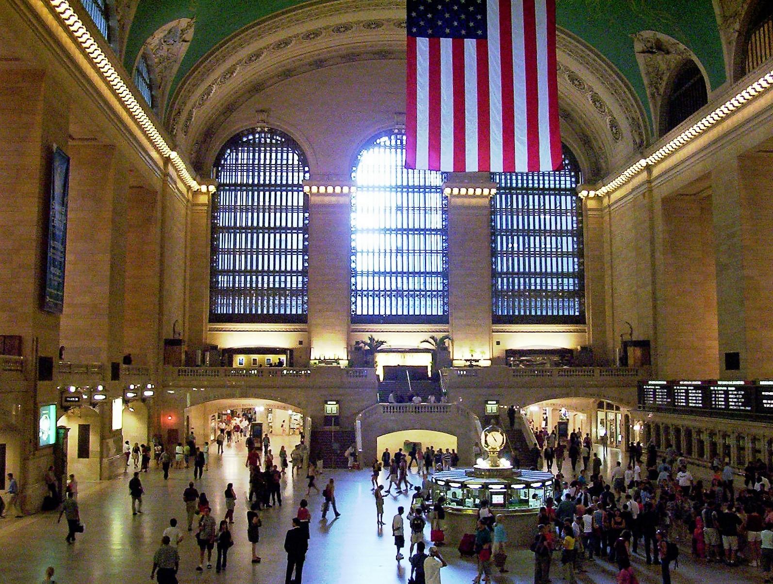 New York Grand Central Station.