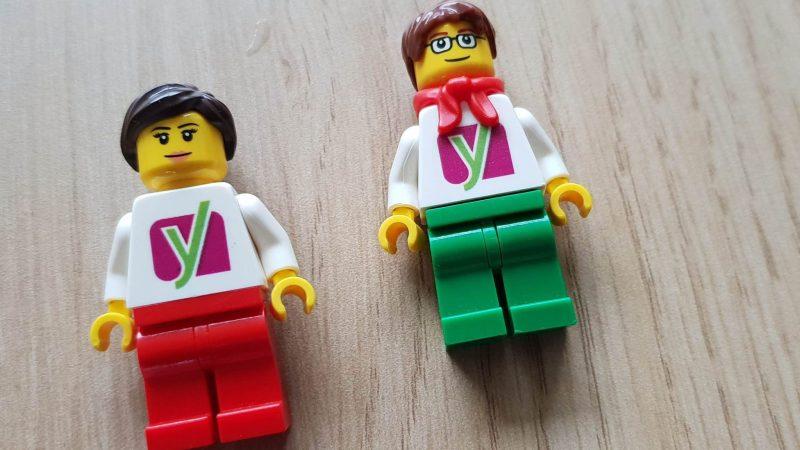 Lego poppetjes van Yoast