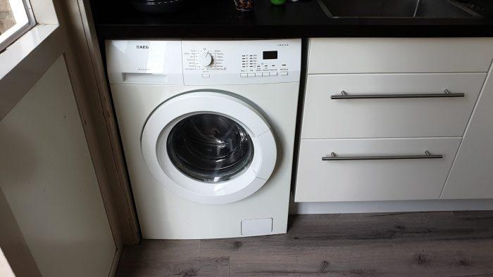 De oude wasmachine