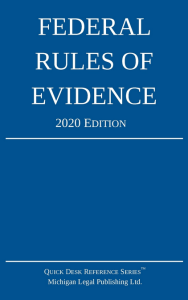 2020 Federal Rules of Evidence