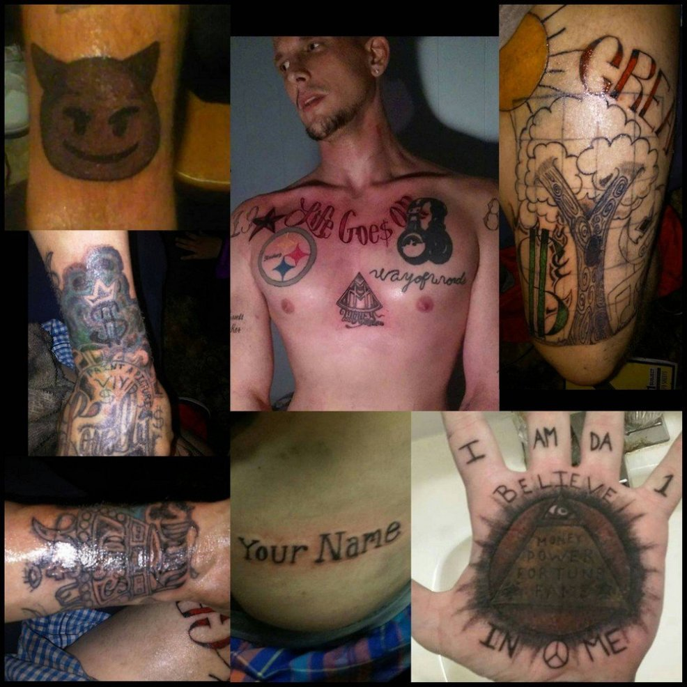 неудачные татуировки 49 фото фото приколы юмор картинки видео