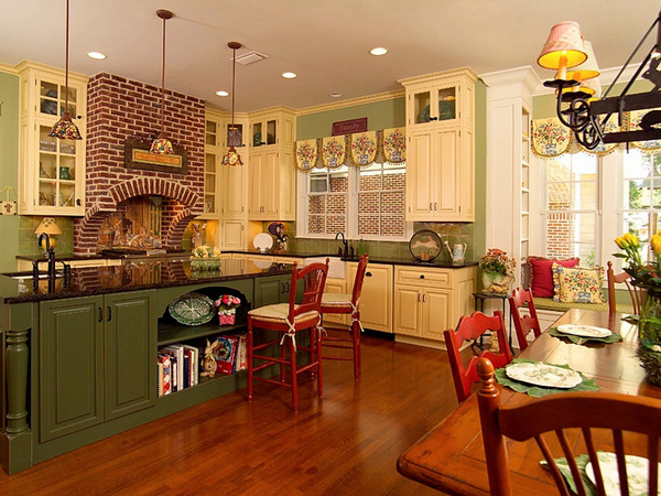 Design Ideas on Country Kitchens