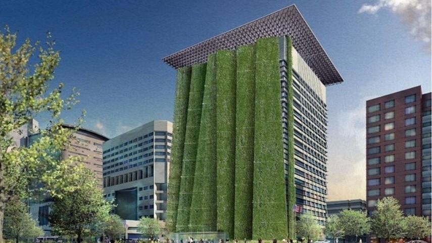 Gedung Kementerian PU Baru Terapkan Green Building