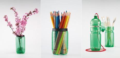 20 Produk Kerajinan dari Botol Plastik Yang inspiratif