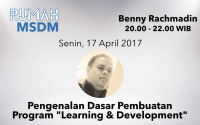 "Pengenalan Dasar Pembuatan Program ""Learning and Development"""