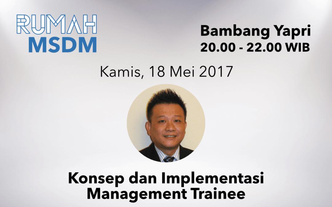 Konsep dan Implementasi Management Trainee