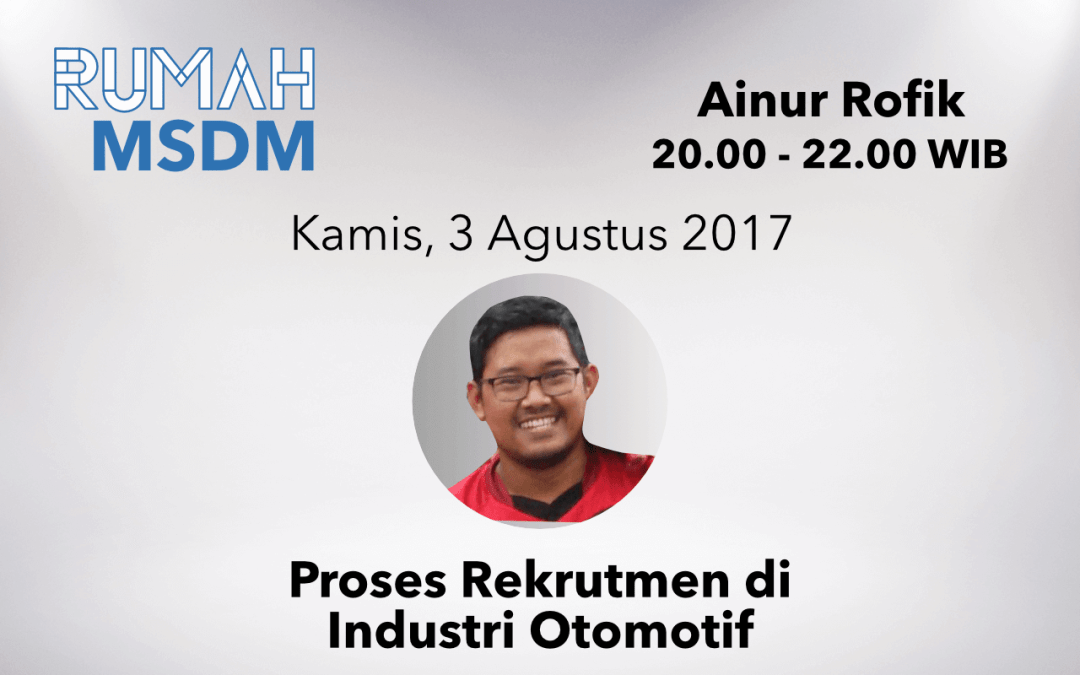 Proses Rekrutmen di Industri Otomotif