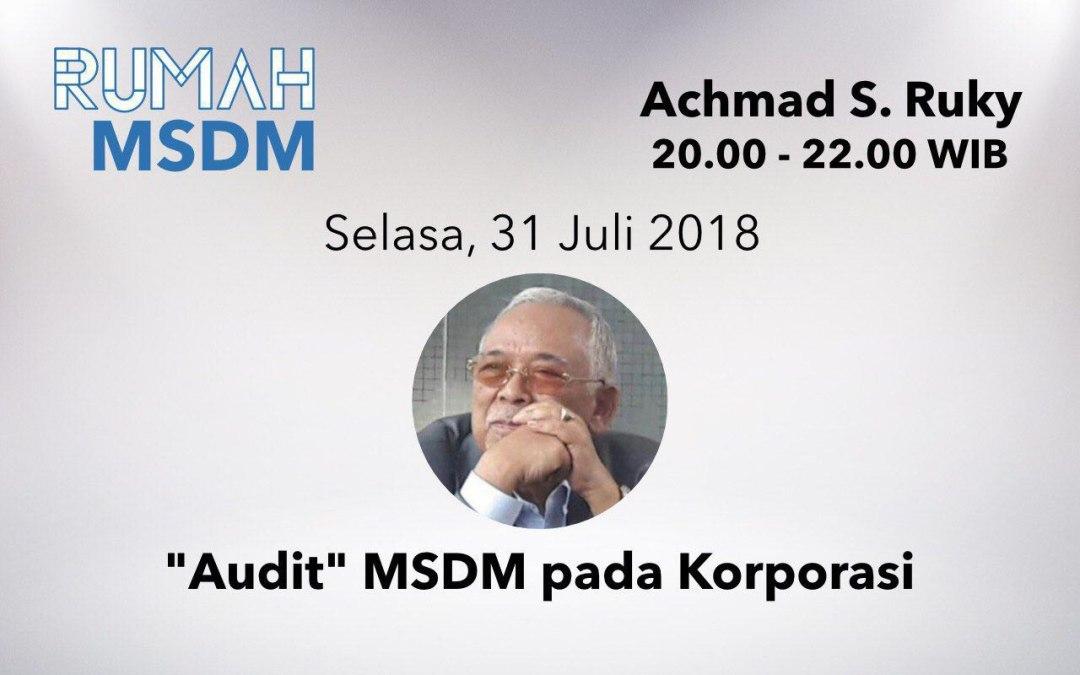 """""""Audit"""" MSDM pada Korporasi"""