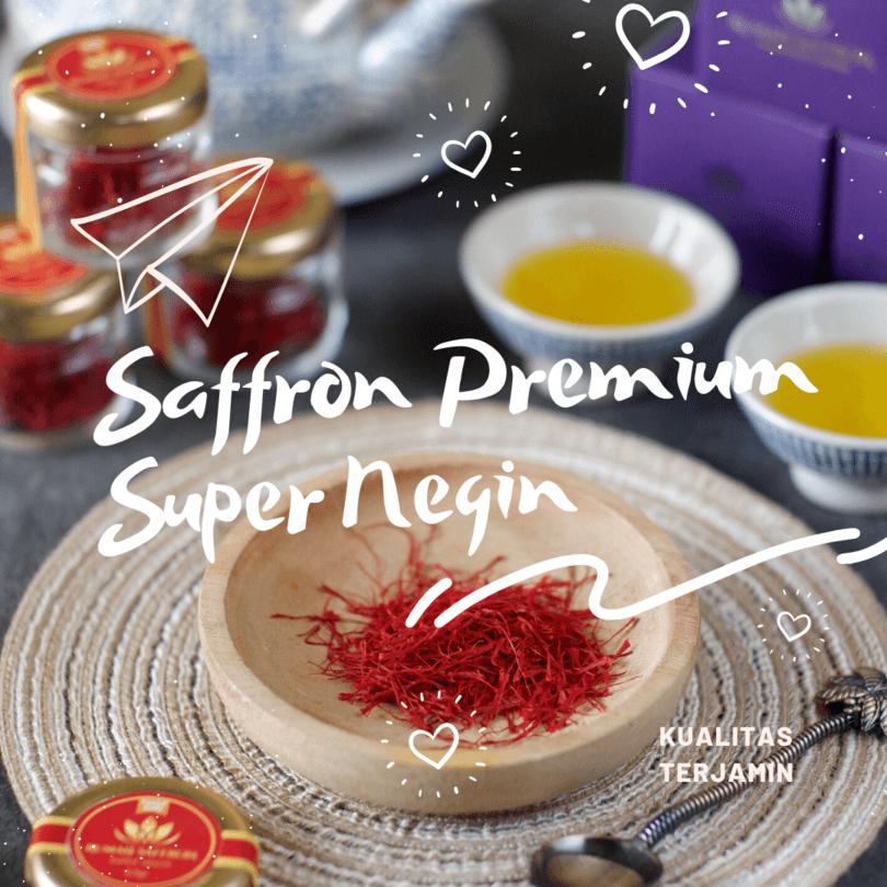 saffron super negin asli, kualitas terjamin, rumah saffron