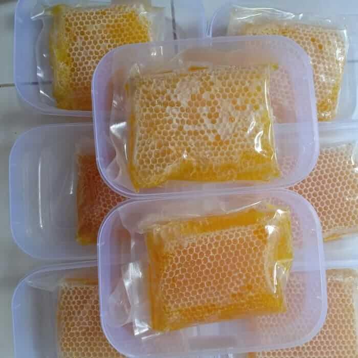 Madu sarang asli dan palsu, ciri madu sarang asli, perbedaan madu sarang asli dan palsu, cara membedakan madu sarang asli dan palsu