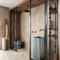Kamar mandi yang cukup unik Bisa jadikan inspirasi
