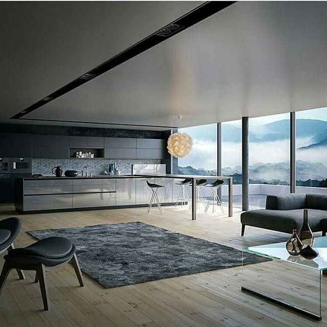 Plafon simple dapur minimalis
