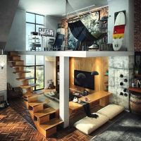Dream Loft house? Siapa yang punya impian memiliki rumah loft seperti ini?