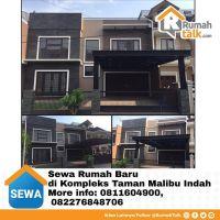 Disewakan Rumah Baru Kompleks Taman Malibu Indah  Rumah baru dengan konsep minimalis. Luas tanah: 350m2, Luas Bangunan: 250m2 2 1/2tkt, 3 kamar tidur, 5 toilet, Semi furnished  Harga US$2000/month, Nego More info: 0811604900, 082276848706 . Untuk iklan rumah lainnya silakan follow @RumahTalk