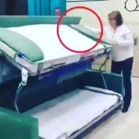 Sofa bed yang bisa menjadi bunk bed