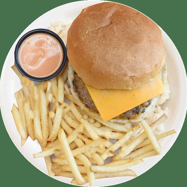 Rumbi Kids Tiki Burger