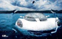 First submarine car
