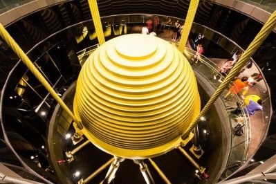 Taipei 101 World Financial Center Taiwan - Mass Damper - How Tall Can We Build