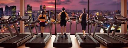 Fitness Centre; Marina Bay Sands Hotel, Singapore
