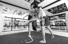 Kickboxing Ring; The Siam, Bangkok, Thailand