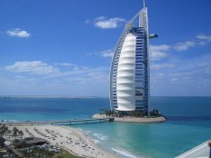 Burj Al Arab hotel in Dubai, UAE