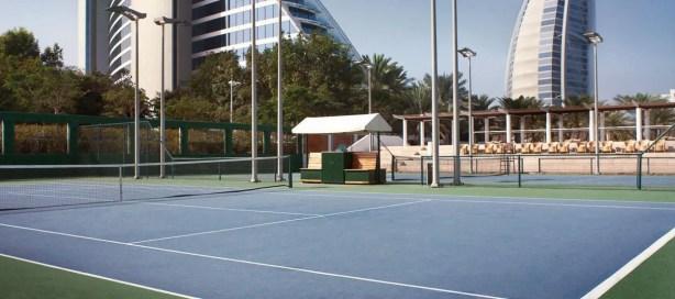 Tennis Court; Jumeirah Beach Hotel, Dubai