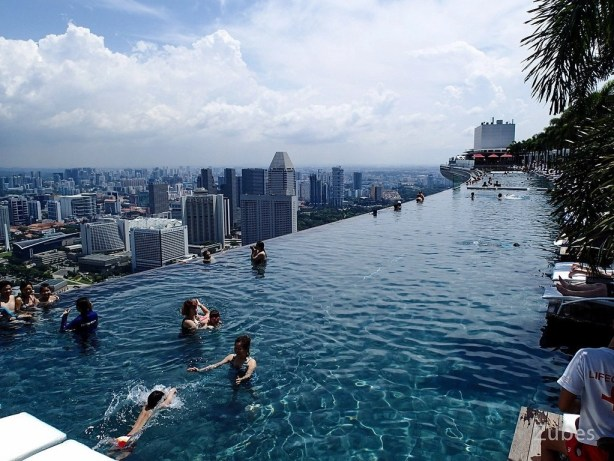 Marina Bay Sands, Singapore Extra-ordinary and Exceptional Pools; Soak Yourself Up