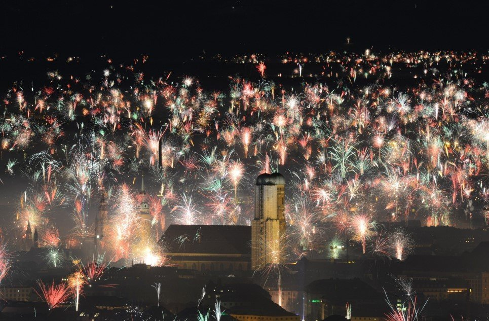 New Years Eve Snapshots from around the World