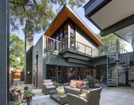 Midvale Courtyard House by Bruns Architecture (9)