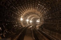 Subway Tunnel, Kiev, Ukraine (2)