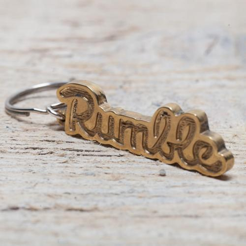 Rumble Tag keychain