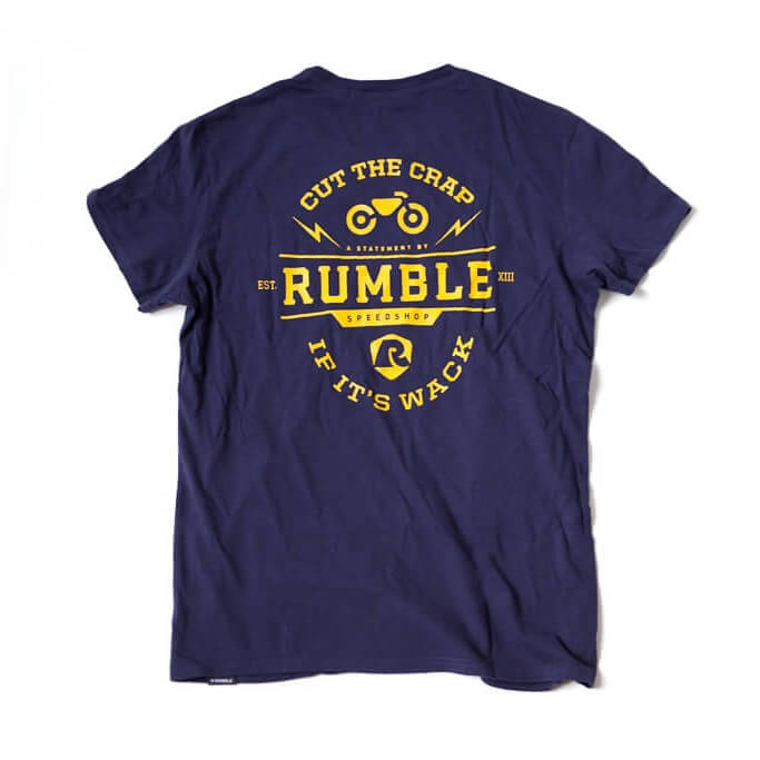 Rumble Cut the Crap T-shirt