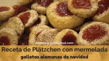 Receta de Plätzchen con mermelada: galletas alemanas de navidad