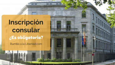 Inscripción consular: ¿es obligatoria?
