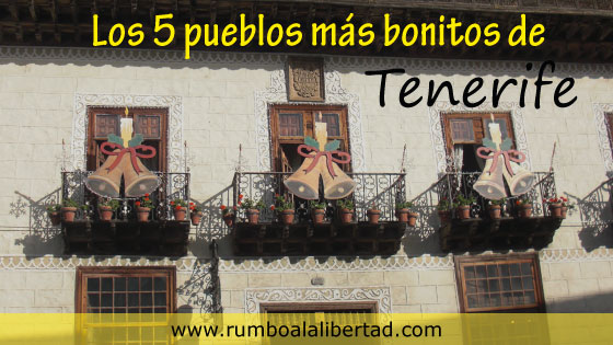 Los 5 pueblos más bonitos de Tenerife