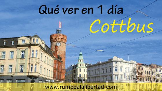 Qué ver en Cottbus en 1 día: Ruta paso a paso y con información turística
