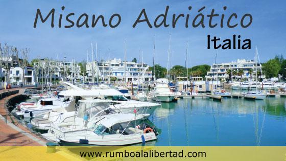 Misano Adriático playa en Italia con niños